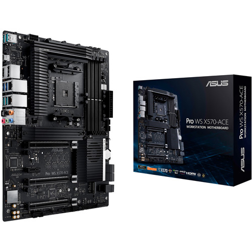 ASUS Pro WS X570-ACE AM4 ATX Motherboard