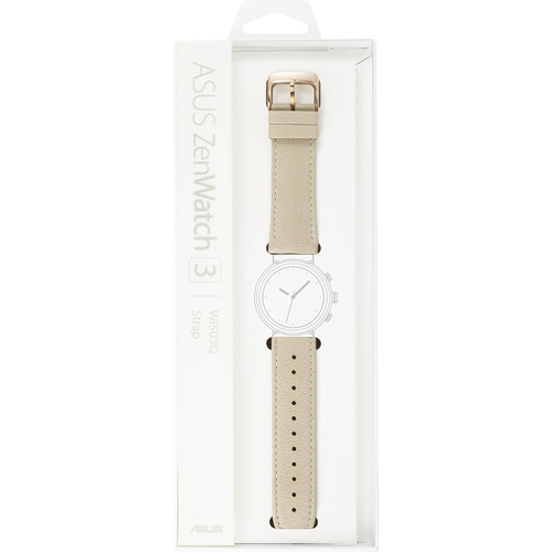 ASUS Leather Strap ZenWatch3 (Rose Gold)