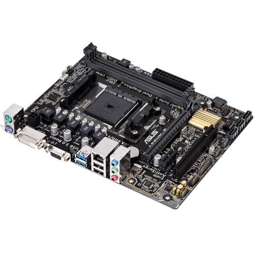 ASUS A68HM-E AMD Socket FM2+ mATX Motherboard
