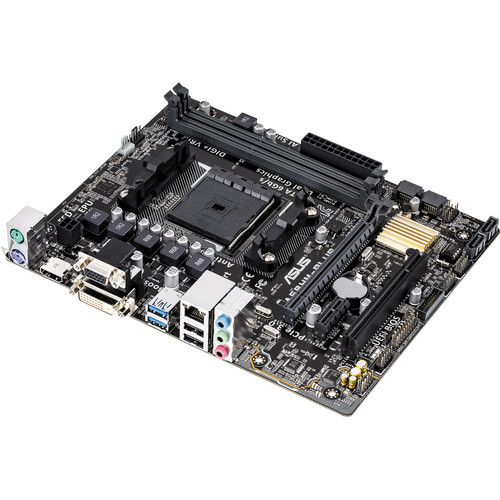 ASUS A68HM-PLUS AMD Socket FM2+ mATX Motherboard