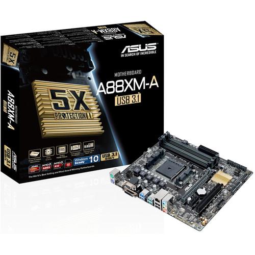 ASUS A88XM-A/USB 3.1 FM2+ Micro ATX Motherboard