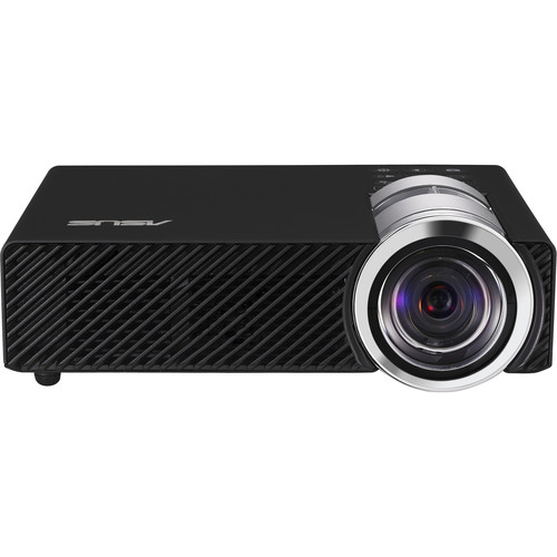 ASUS B1MR 900 Lumen WXGA Wireless DLP Projector (Black)