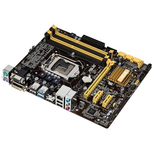 ASUS B85M-G R2.0 LGA-1150 Micro-ATX Motherboard
