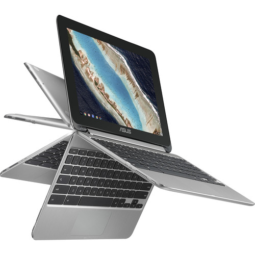"""ASUS 10.1"""" C101PA-DB02 Multi-Touch 2-in-1 Chromebook Flip"""