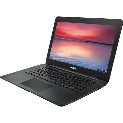 """ASUS 13.3"""" 16GB C300SA Series Chromebook (Black)"""