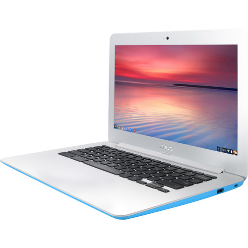 "ASUS 13.3"" 16GB C300SA Series Chromebook (Light Blue)"