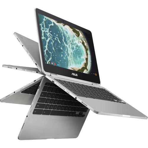 """ASUS 12.5"""" C302CA-DH54 64GB Chromebook Flip"""