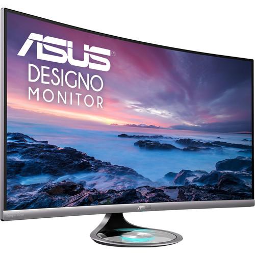 """ASUS Designo MX32VQ 31.5"""" 16:9 Curved LCD Monitor"""
