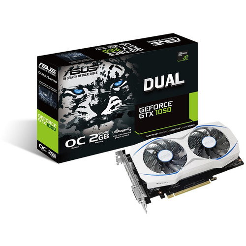 ASUS Dual OC GeForce GTX 1050 Graphics Card