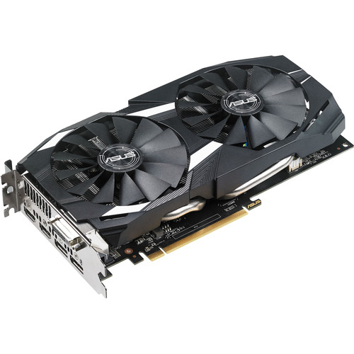 ASUS Dual OC Radeon RX 580 Graphics Card