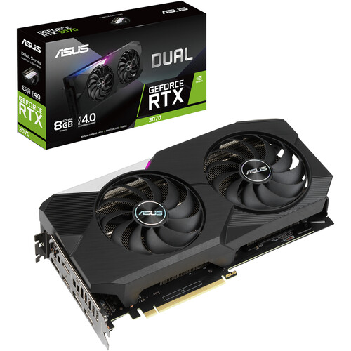 ASUS Dual GeForce RTX 3070 Graphics Card