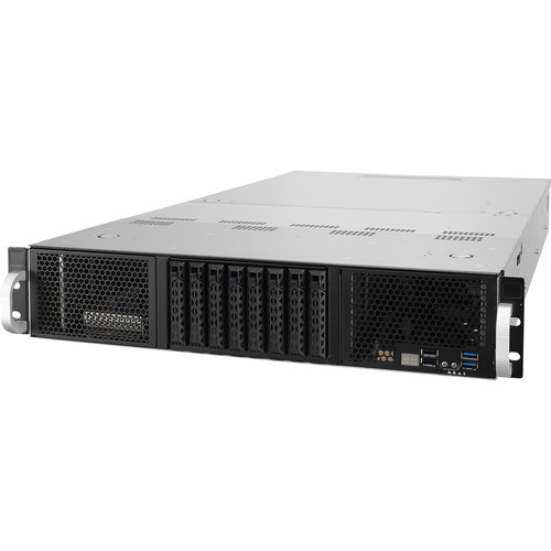 """ASUS 2U Accelerator Server With 16 Dimms And 8 Hot-Swap 2.5"""" Storage Bays"""