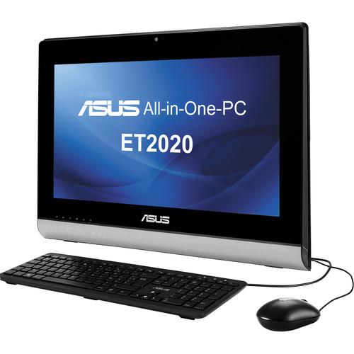 """ASUS ET2020IUKI-01 19.5"""" All-in-One Desktop Computer (Black)"""