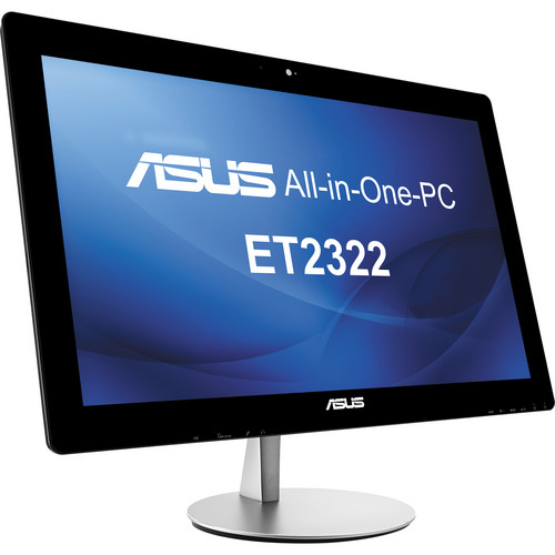 "ASUS ET2322IUKH-01 23"" All-in-One Desktop Computer (Black)"