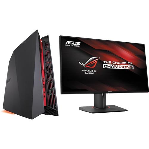 "ASUS Republic of Gamers G20AJ Gaming Desktop Computer with 27"" Widescreen LED Monitor Kit"