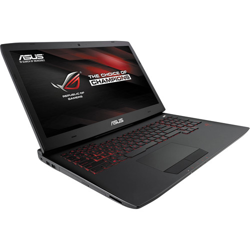 """ASUS Republic of Gamers G751JT-CH71 17.3"""" Gaming Laptop Computer (Black)"""