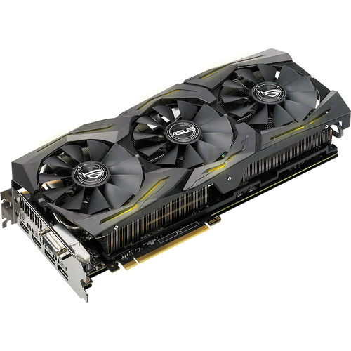 ASUS Republic of Gamers Strix GeForce GTX 1080 TI Graphics Card