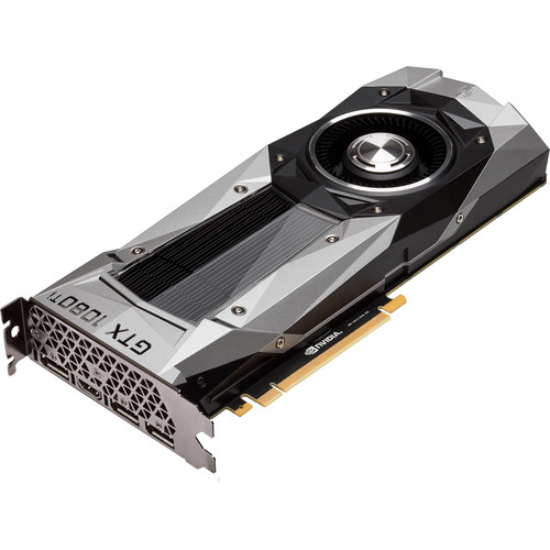 ASUS GeForce GTX 1080 Ti Founders Edition Graphics Card with EVGA SuperNOVA 850G2 850W Power Supply Kit
