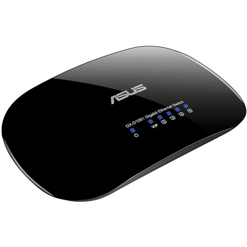 ASUS 5-Port Desktop Switch with Green Network (Version 3)