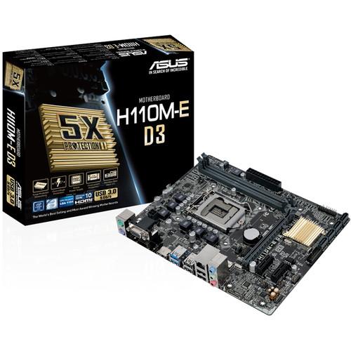 ASUS H110M-E LGA 1151 Micro ATX Motherboard