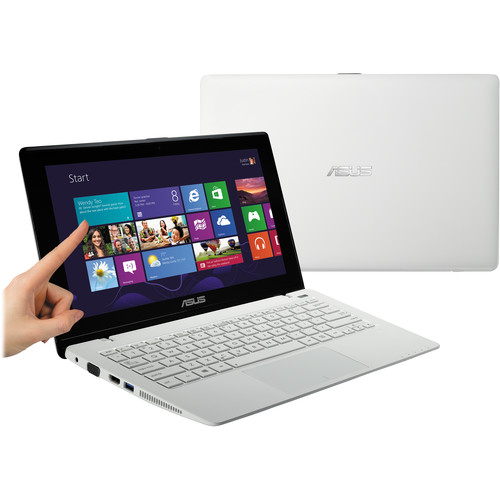 "ASUS K200MA-DS01T 11.6"" Multi-Touch Notebook Computer (White)"