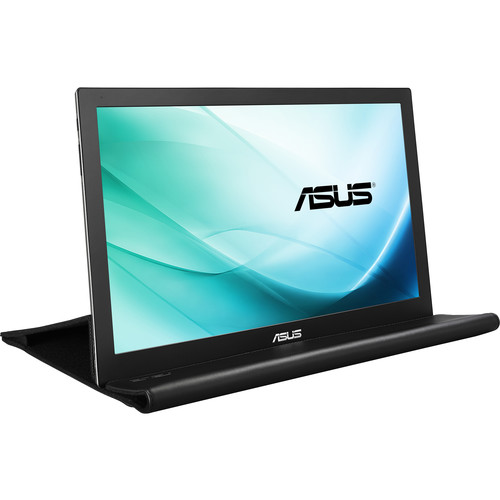 "ASUS MB169B+ 15.6"" Portable LED Backlit IPS USB-Powered Monitor"