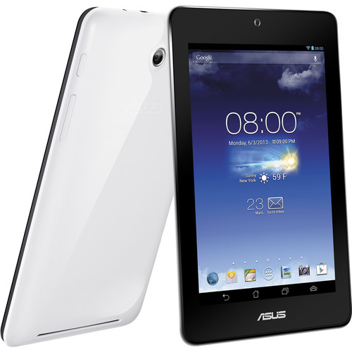 ASUS 16GB MeMO Pad HD 7 Tablet (White)
