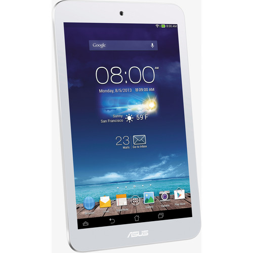ASUS 16GB MeMO Pad HD 8 Tablet (White)