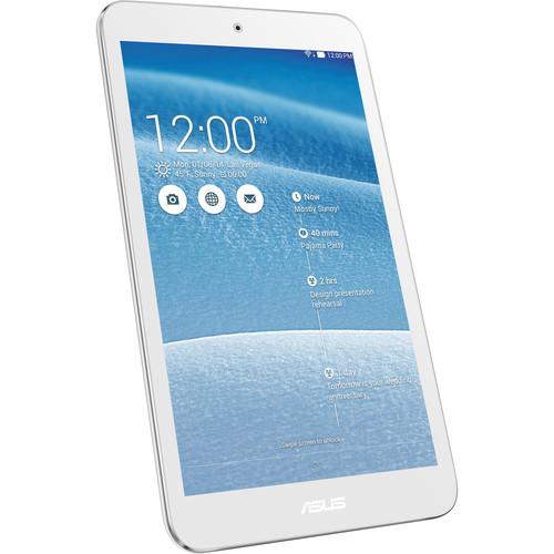 "ASUS 16GB ME181C MeMO Pad 8"" Wi-Fi Tablet (White)"