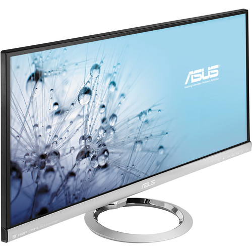 """ASUS MX299Q Ultra-Wide Cinematic Monitor (29"""", Silver and Black)"""
