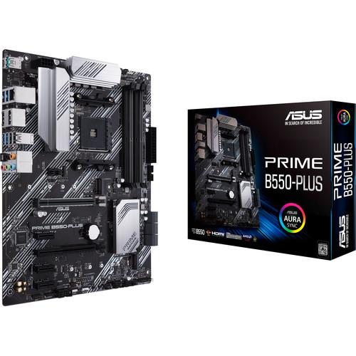 ASUS Prime B550 Plus AM4 ATX Motherboard