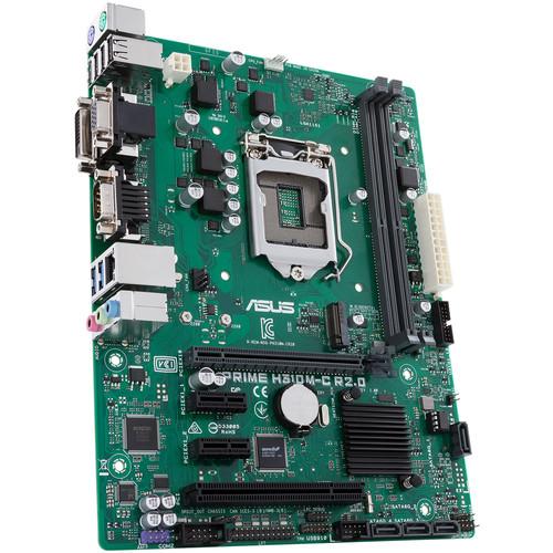 ASUS Prime H310M-C R2.0/CSM LGA 1151 Micro-ATX Motherboard