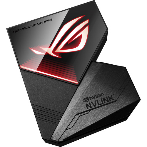 ASUS Republic of Gamers GeForce RTX NVLink SLI Bridge (4-Slot Spacing)