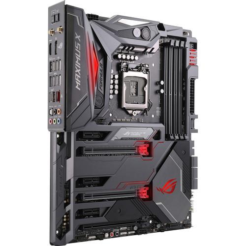 ASUS Republic of Gamers Maximus X Formula LGA 1151 Z370 ATX Motherboard
