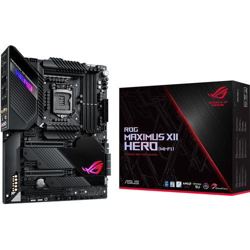 ASUS Republic of Gamers Maximus XII Hero LGA 1200 ATX Motherboard (Wi-Fi)