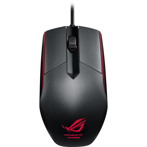 ASUS Republic of Gamers Sica Mouse (Steel Gray)