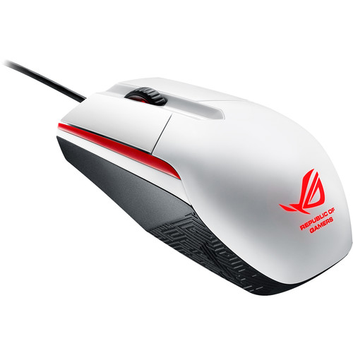 ASUS Republic of Gamers Sica Mouse (White)