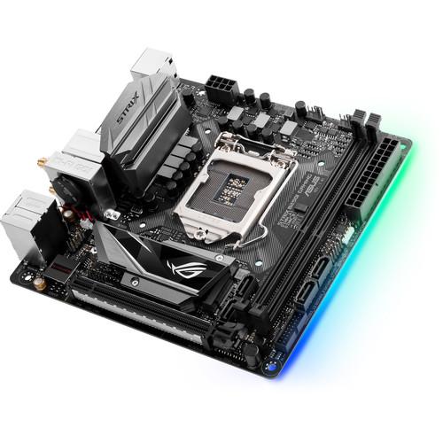 ASUS Republic of Gamers Strix B250I Gaming LGA 1151 Mini-ITX Motherboard