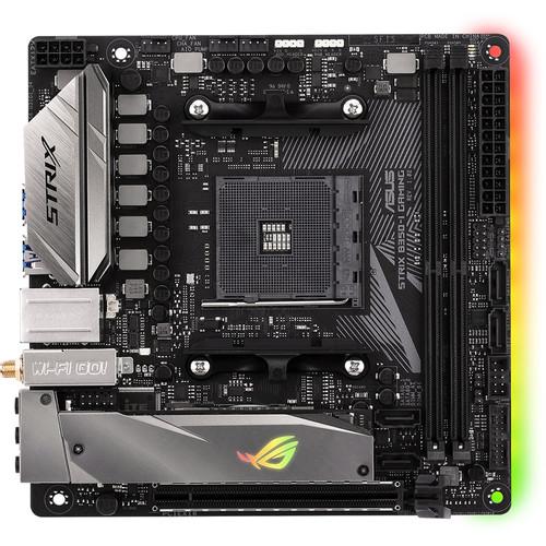 ASUS Republic of Gamers Strix B350-I Gaming AM4 Mini-ITX Motherboard