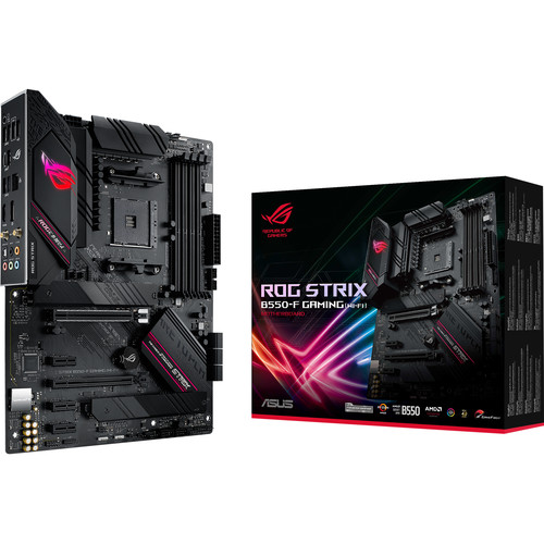 ASUS Republic of Gamers STRIX B550-F Gaming Wi-Fi AM4 ATX Motherboard
