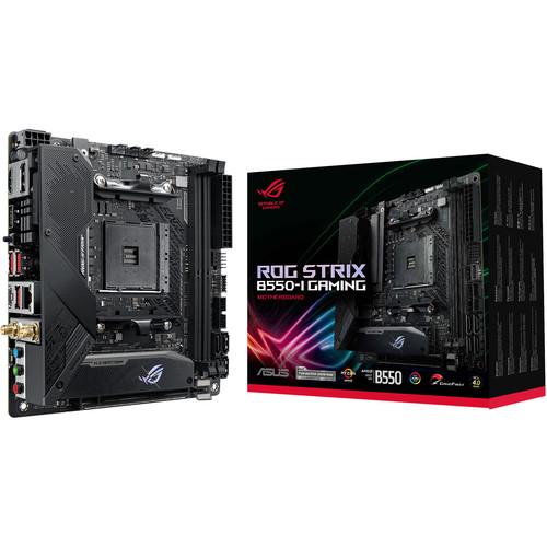 ASUS Republic of Gamers Strix B550-I AM4 Mini-ITX Motherboard