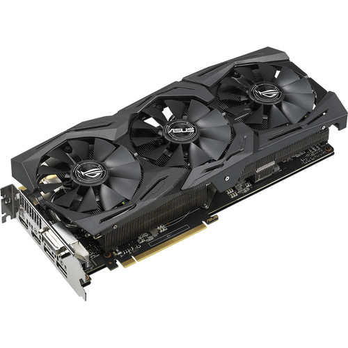 ASUS Republic of Gamers Strix GeForce GTX 1070 Ti Advanced Edition Graphics Card