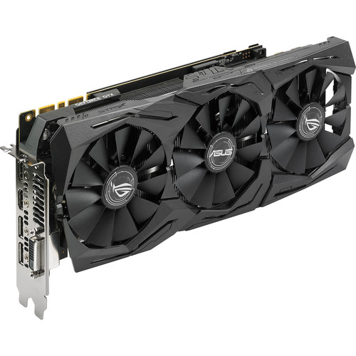 ASUS Republic of Gamers Strix Gaming GeForce GTX 1080 OC Edition Graphics Card