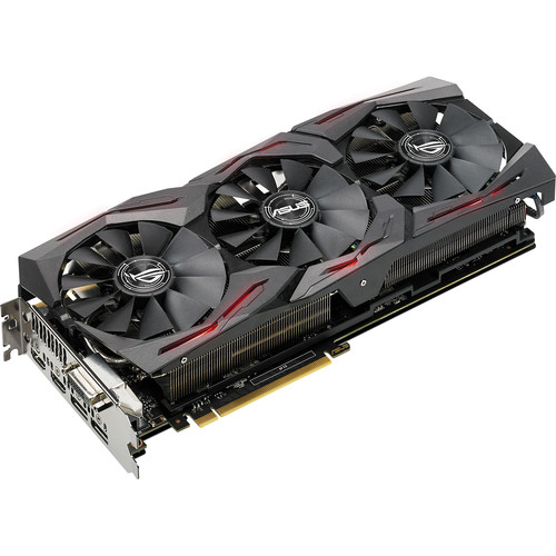 ASUS Republic of Gamers Strix GeForce GTX 1080 TI OC Edition Graphics Card