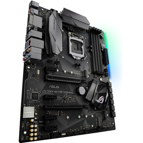 ASUS Republic of Gamers Strix H270F Gaming LGA 1151 ATX Motherboard