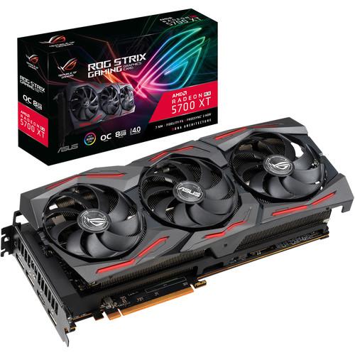 ASUS Republic of Gamers Strix Radeon RX 5700 XT OC Edition Graphics Card