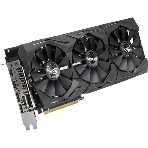 ASUS Republic of Gamers Strix OC Radeon RX 580 Graphics Card
