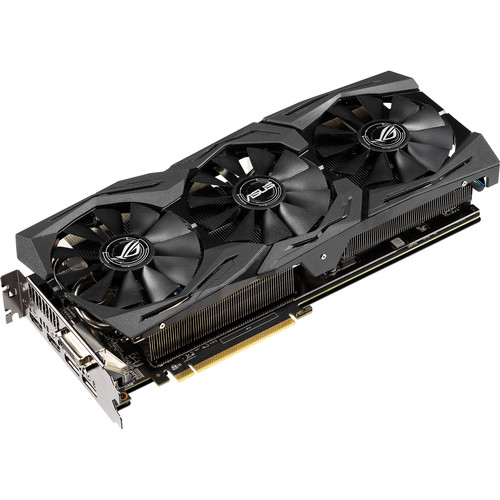 ASUS Republic of Gamers Strix Radeon RX 590 GAMING Graphics Card