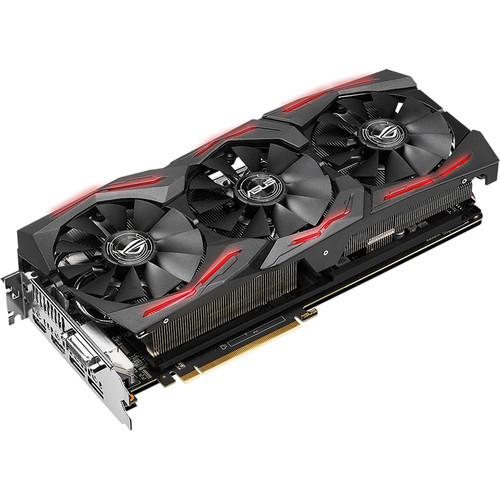 ASUS Republic of Gamers Strix Radeon RX Vega64 OC Edition Graphics Card