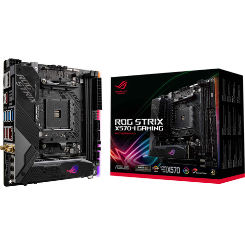 ASUS Republic of Gamers Strix X570-I Gaming AM4 Mini-ITX Motherboard